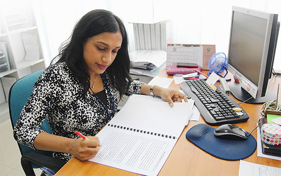 Meera also manages the diploma programme in accounting at APU