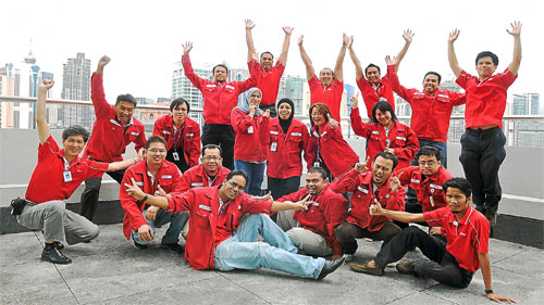 Technip invests heavily into the development of its employees.