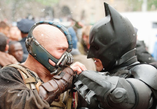 Superheroes aren't infallible, sometimes they face major challenges! Bane wasn't an easy opponent for Batman to overcome.