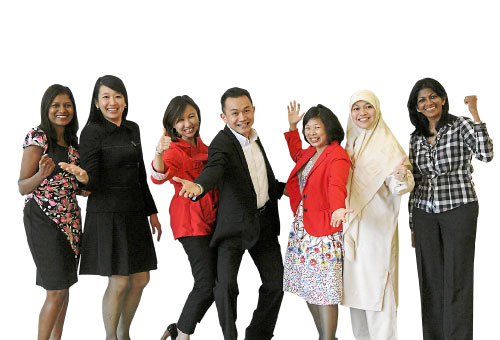Diversity Advocates (L-R):