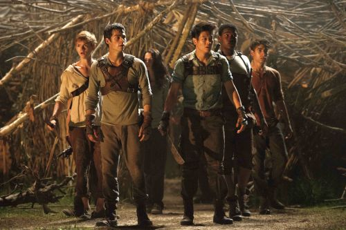 A scene from <i>The Maze Runner</i> - Photo credit: Filepic