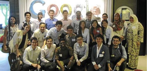 Visit to Google to meet Sajith Sivanandan, country head, Google Malaysia
