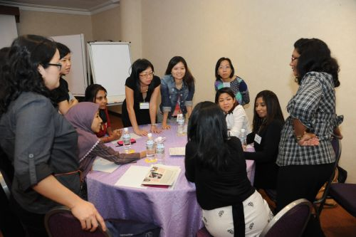 Sharing sessions saw career women and HR leaders exchanging and deliberating ideas and best practices among themselves.