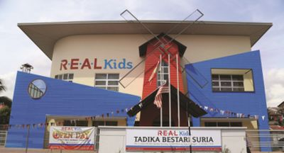 The R.E.A.L Kids preschool centre was set up close by Sunway's offices for the convenience of working mothers.