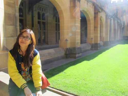 Juanita Jamsari, currently studying in Sydney, Australia.