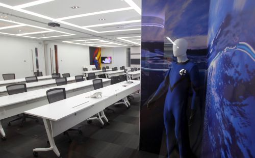 The Fantastic Four meeting room.