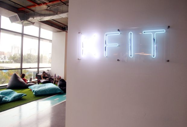 KFit's office is located in the heart of Bangsar South.