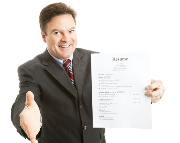 Resumes that are concise and to the point, catch attention.