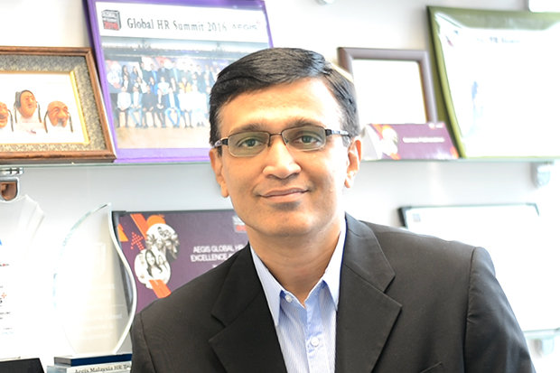 Ganesan, vice president of human resources